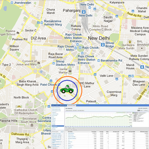 Tracking a Car on GPS with Report