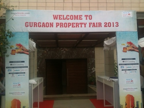 Gurgaon Property Fair 2013 Main Gate