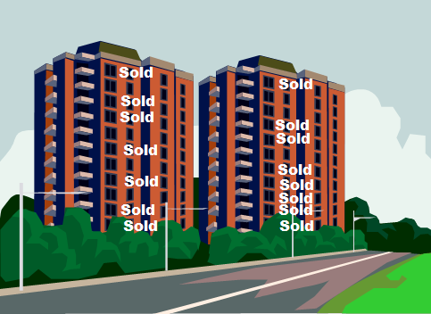 Buildings Showing Most Units Sold