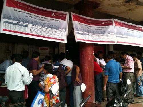 People Applying Hissar Plots 2013 at Axis Bank by Loan