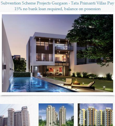 Subvention Scheme offering Luxury Villa