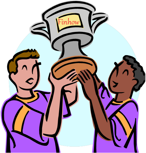 Winners Holding Finhow Cup